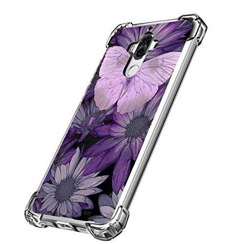 Price comparison product image Huawei mate9 Case Golbsky Clear Soft TPU Fashionable Print Back Cover (7)