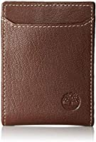 Timberland D10243/01 clip Wallet for Men, Brown, Leather
