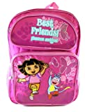 Dora The Explorer Backpack – Dora and Boots School Backpack (Best Friends), Bags Central