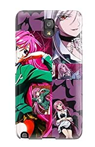 Defender Case With Nice Appearance (amazing Rosariovampire Three ) For Galaxy Note 3