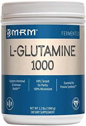 MRM L-Glutamine 1000mg Powder, 2.2 lbs