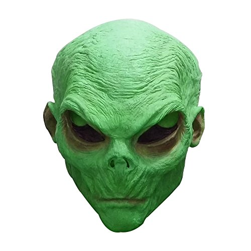 Cola Bear Alien Mask Cosplay Halloween Mask Latex Alien Ufo Mask Horror Makeup Costumes Halloween Head Mask For Man For Adult With Gloves Accoutrement ...  sc 1 st  Halloween Stuff 4 You & Cola Bear Alien Mask Cosplay Halloween Mask Latex Alien Ufo Mask ...