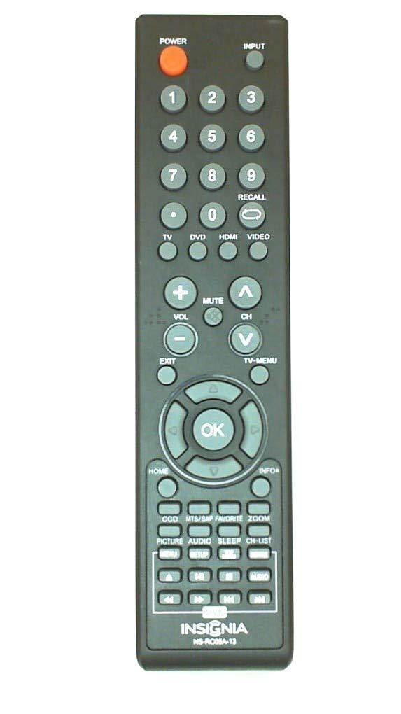 Control Remoto Insignia Comb DVD TV NS RC05A 13 NS RC04A ...