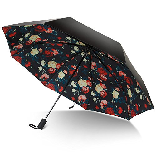rainlax travel umbrella anti uv protection canopy parasol sun import it all. Black Bedroom Furniture Sets. Home Design Ideas