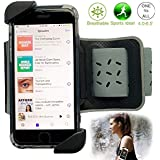 Running Phone Holder Armband for iPhone X 8 7 6 6S Plus, Google Pixel, Galaxy S9 + S8 S7 S6 Edge Note 8 5, Sweat Resistant Cell Phone Armband Running Pouch Key Holder for Running, Walking, Hiking