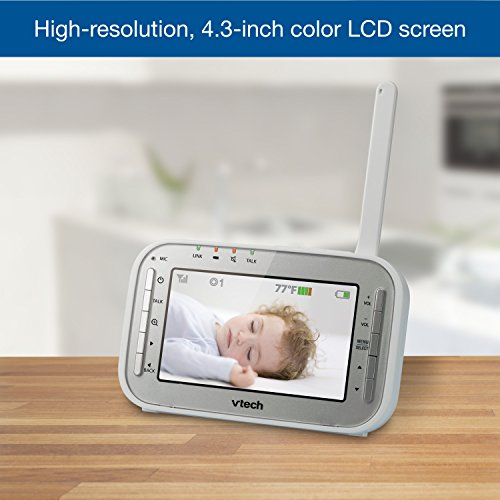 Vtech Vm342 2 Video Baby Monitor With 170 Degree Wide