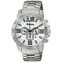 Roots Men's 1R-LF604WH0 Nominigan Analog Display Japanese Quartz Silver Watch