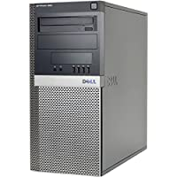 Dell Optiplex (Intel Dual Core CPU 3.0GHz, New 4GB Memory, 1TB HDD, DVD, Windows 10 Home Edition) (Certified Refurbished)