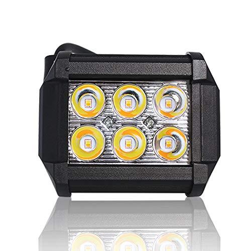 Barra de luz LED 18W Luz de trabajo LED, blanco/amarillo ...