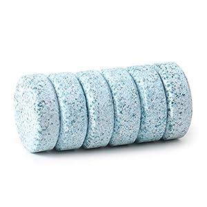 beler 6pcs Car Windshield Glass Washer Cleaner Compact Effervescent Tablets Detergent