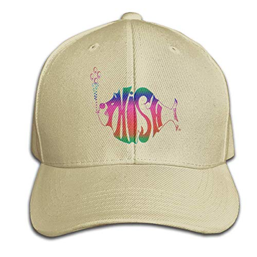 Phish Cap Casual Baseball Hat for Men and Women,Natural,One Size