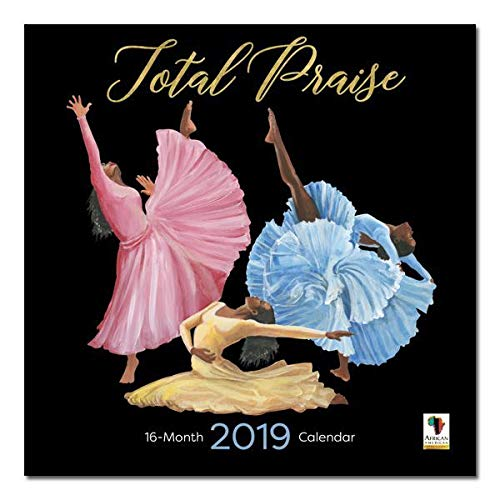 African American Expressions - 2019 Total Praise 12 Month Calendar (12