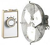 Attic Ventilator,Gable Mount,115V,16 In,