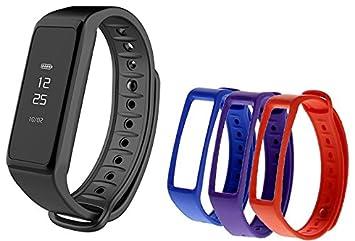 MyKronoz Zefit 2 Montre connectée + 3 Bracelets Mixte Adulte, Multicolore