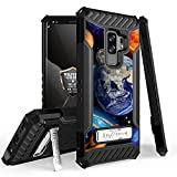 Galaxy S9 Plus/Galaxy S9+ Case, Trishield Durable Shockproof High Impact Rugged Armor Phone Cover with Kickstand for Samsung S9+ Only Printed Solar Planet Galaxy