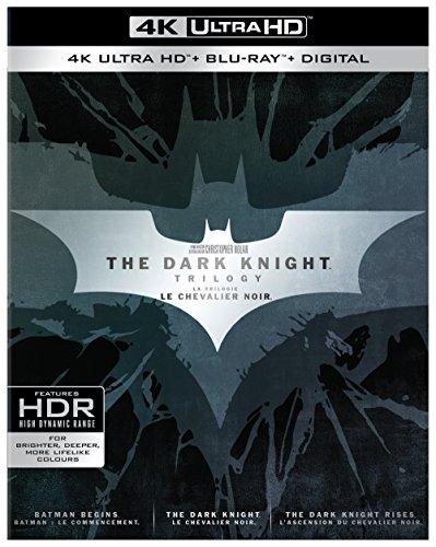 Dark Knight Trilogy Collection (BIL/4K Ultra HD) [Blu-ray]