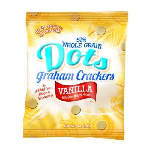 Readi Bake Dots Whole Grain Graham Crackers, 1 Ounce -- 200 per case. by Readi-Bake
