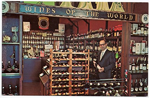 Postcard Anchor Liquor Store at Massapequa Park in Long Island, New - At The Gallery Stores