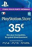 Carte Playstation Network 35 EUR | Code Jeu PSN - Compte français