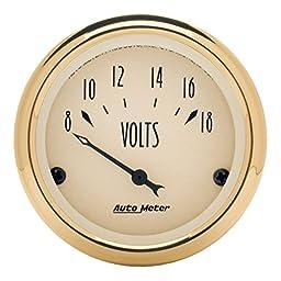 Auto Meter 1592 Golden Oldies Voltmeter Gauge