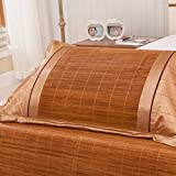 D&L Summer bamboo mat pillowcase, Single mat Pillowcase, Bamboo pillowcase-C 74x48cm(29x19inch)
