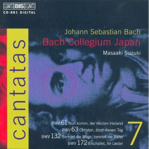 Bach, J.S.: Cantatas, Vol. 7 - Bwv 61, 63, 132, 172