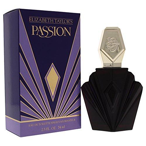Passion By Elizabeth Taylor For Women, Eau De Toilette Spray, 2.5-Ounce (Passion Elizabeth Taylor)