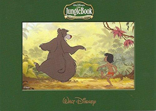 "Walt Disney The Jungle Book 5""x7"" Lithograph Print Baloo the Bear and Mowgli"