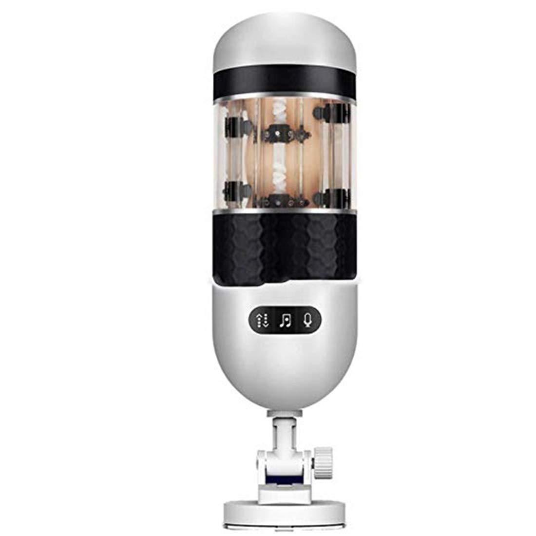 Auferstehung'Go Dlzaq 3D Vibrating Cup Vaginal Masturbieren -Masturbation Cup Vagina & Anal Sex Toys - Silikon 8 Vibrationsmodi