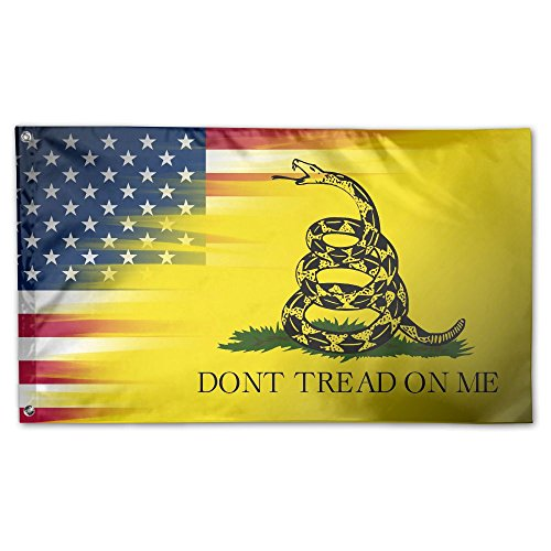 VR4U Don't Tread On Me Snake Pattern Garden Flag&Decorative for sale  Delivered anywhere in USA