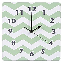 Product of Trend Lab Wall Clock, Sea Foam - Clocks [Bulk Savings]