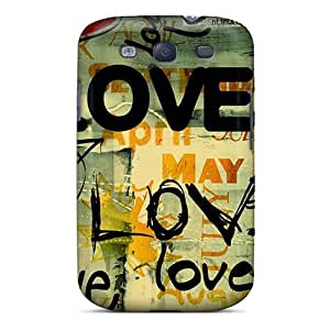 Snap-on Case Designed For Galaxy S3- Love