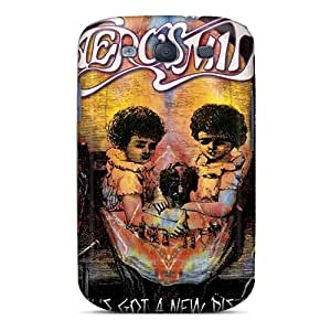 Shock Absorbent Hard Cell-phone Case For Samsung Galaxy S3 With Custom Attractive Aerosmith Pattern SherieHallborg