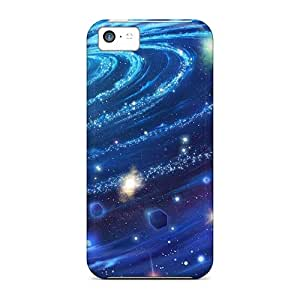 New Fashion Premium Cases Covers For Iphone 5c - Space Spiral