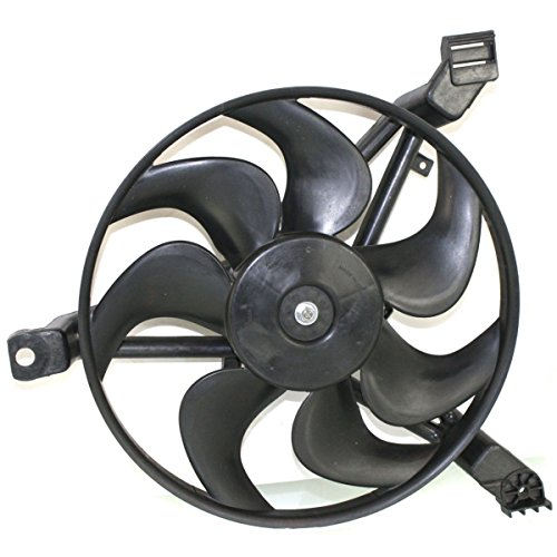 Diften 325-A0460-X01 - New A/C AC Condenser Single Fan Assembly With motor Chevy GM3115118 12367288 ()