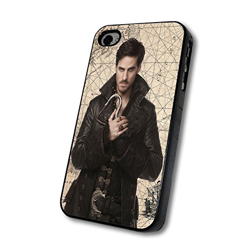 Once Upon a Time Captain Hook Maps Iphone Case - Iphone 4/4s, Iphone 5/5s/5c, Iphone 6/6s/6+ (iphone 6/6s black)