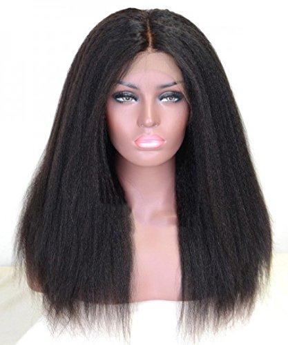 Pelucas rectas pelucass rectas del pelo Frente de encaje de la pelucas sintéticas