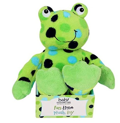 Frog Plush Doll - 4SGM Green Frog with Polka Dots Plush Toy Doll