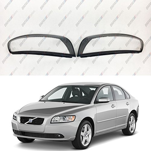 New Original Headlight Headlamp Lens Plastic Cover (PAIR) VOLVO S40 / V50 - Volvo Headlight Lens