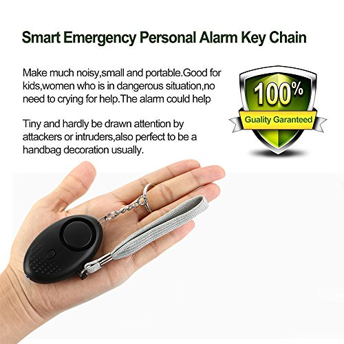 2-Pack-Personal-Secutiry-Alarm-130DB-SOS-Emergency-Self-Defense-Safety-Loud-Alarm-Keychain-with-LED-Flashlight-Rape-Attack-Sound-Grenade-for-WomenKidsGirlsSuperiorElderly-by-Baleauty