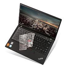 "Folox Keyboard Cover Clear Protector Skin Lenovo Thinkpad X1 Carbon 14"" 2016/2017/2018, ThinkPad X1 Yoga 2017, S1/S2 Yoga 2018"