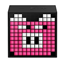 Divoom Timebox mini portable sleep-aid smart alarm clock with APP programmable pixel LED Bluetooth speaker