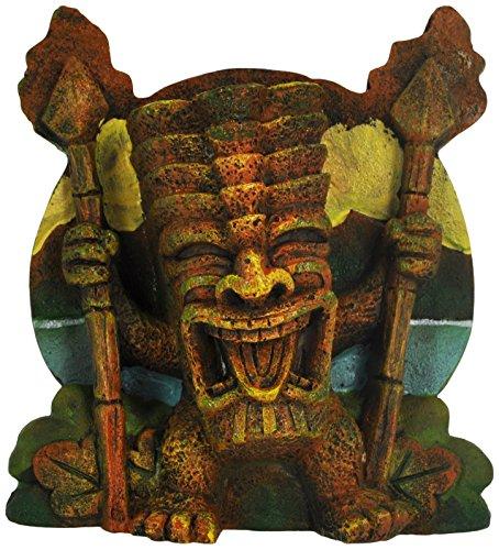 Image of Penn Plax Crazy Torch Tiki Aquarium Ornament