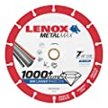 "Lenox Tools 1972924 METALMAX Diamond Edge Cutoff Wheel, 7"" x 7/8"""