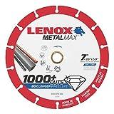 Lenox Tools 1972924 METALMAX Diamond Edge Cutoff Wheel, 7'' x 7/8''