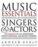 #5: Music Essentials for Singers and Actors: Fundamentals of Notation, Sight-Singing, and Music Theory