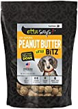 Etta Says! Little Bitz Peanut Butter Training Treats 5.5Oz – Soft Moist Treat, Training Treat, Limited Ingredients, Puppy, Usa Made