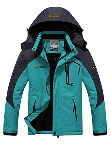 3l Ski (Lorata Winter Men's Waterproof Mountain Jacket Fleece Windproof Ski)
