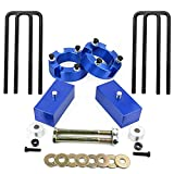Tacoma Leveling Kit, YITAMOTOR 3'' Front and 2'' Rear Toyota Leveling Kit For 2005 - 2016 Toyota Tacoma 2WD 4WD ( 3'' Front Strut Spacers + 2'' Rear Lift Blocks + Extended U-Bolts )