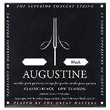 AUGBLK-3G Nylon Classical Guitar Strings, Light